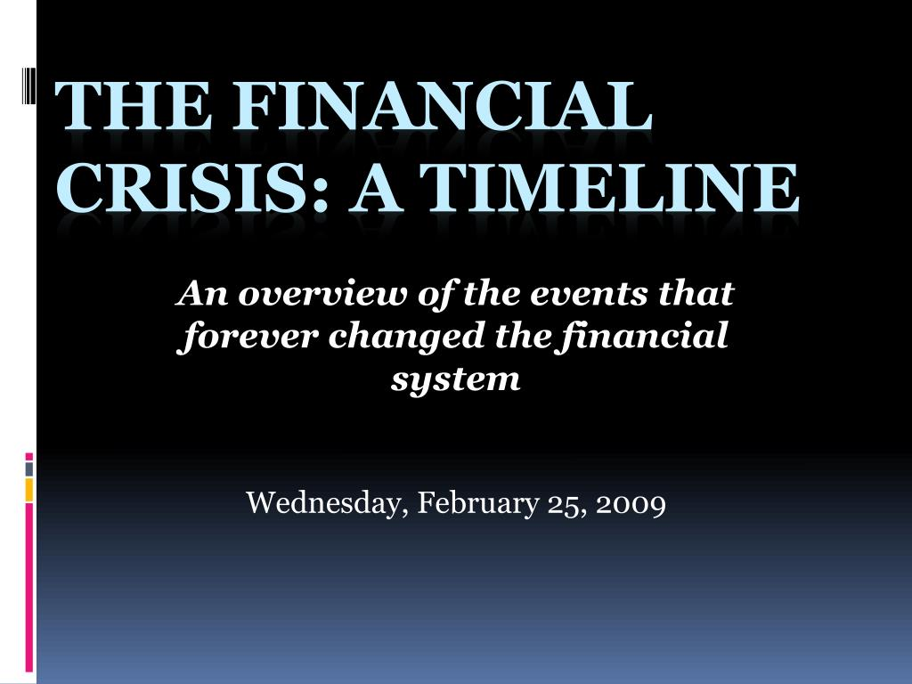financial crisis 2007 2009 summary The financial crisis of 2007–2008, also known as the global financial crisis and  the 2008  1 summary  martin wolf further wrote in june 2009 that certain  financial innovations enabled firms to circumvent regulations, such as off-balance .