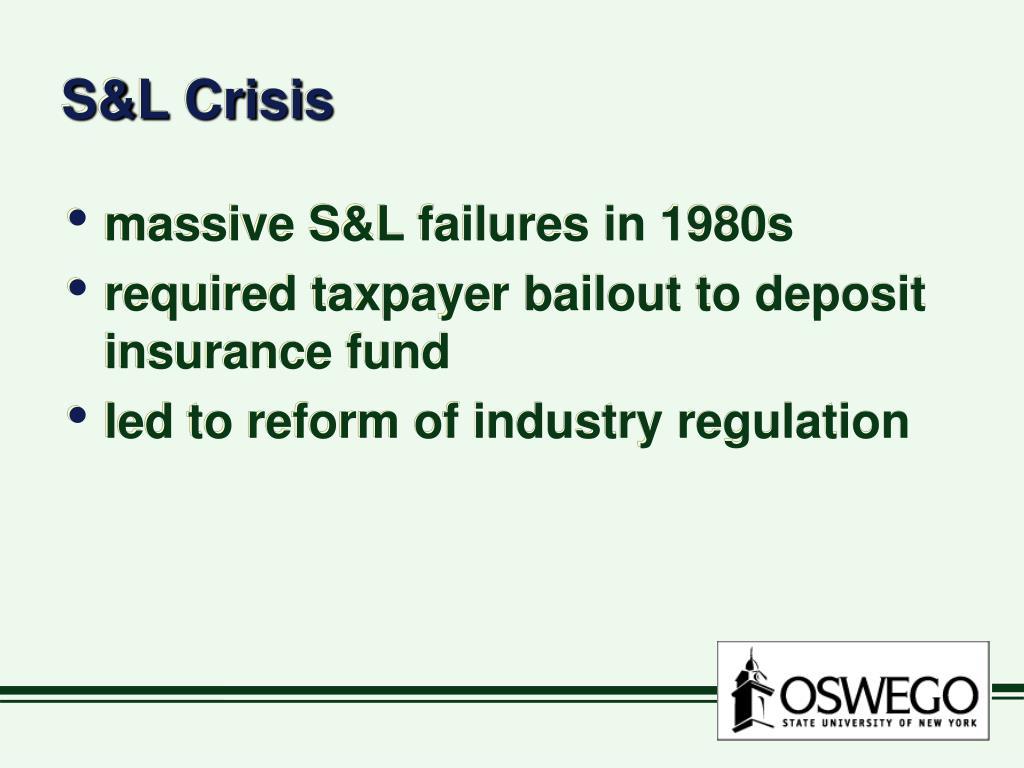 S&L Crisis
