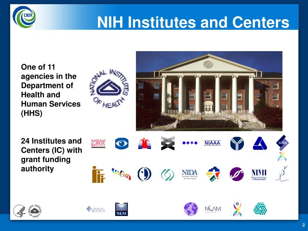 NIH Institutes and Centers
