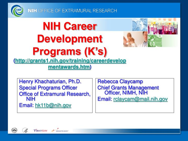 NIH Career Development