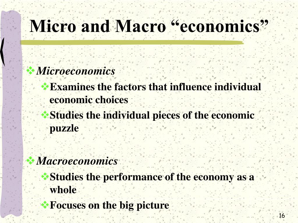 distiction between micro and macro economics Scientists do not find any difference between microevolution difference between microevolution and macroevolution • micro • macro evolution.