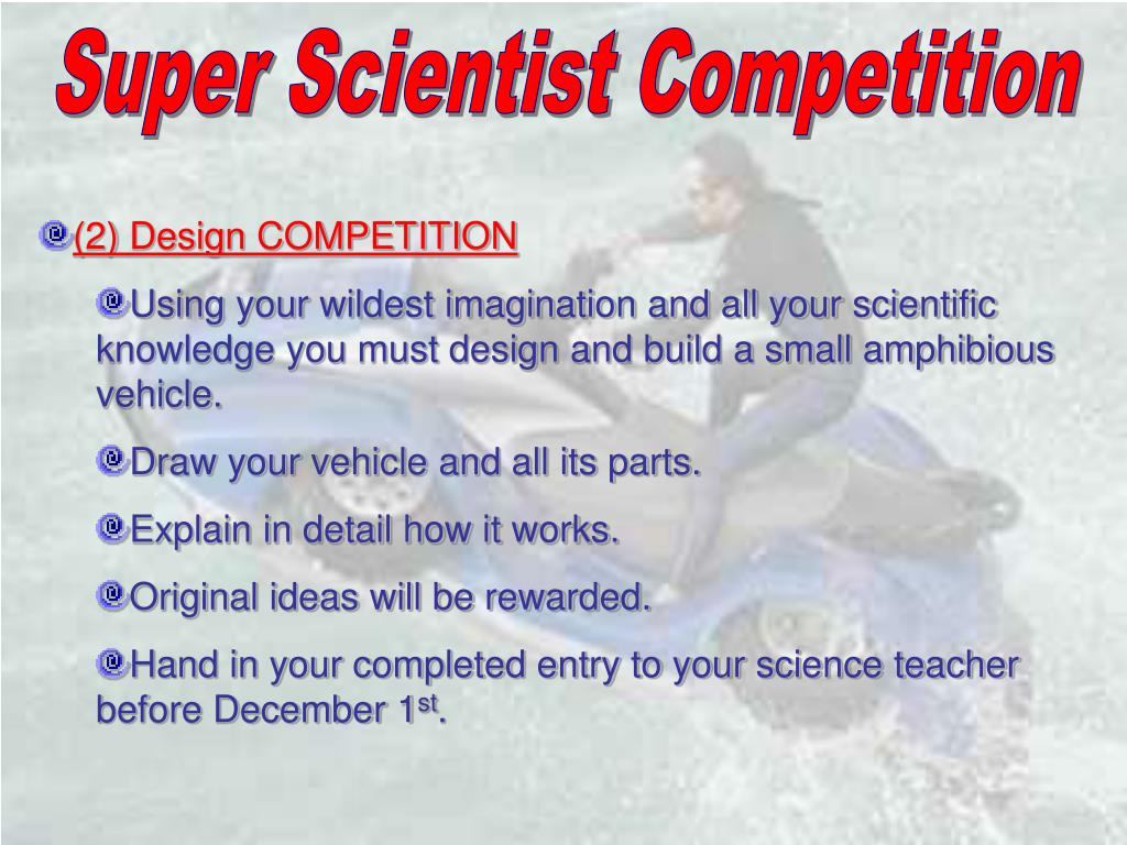 Super Scientist Competition