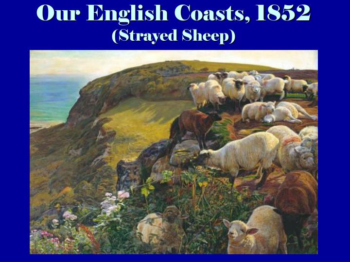 Our english coasts 1852 strayed sheep
