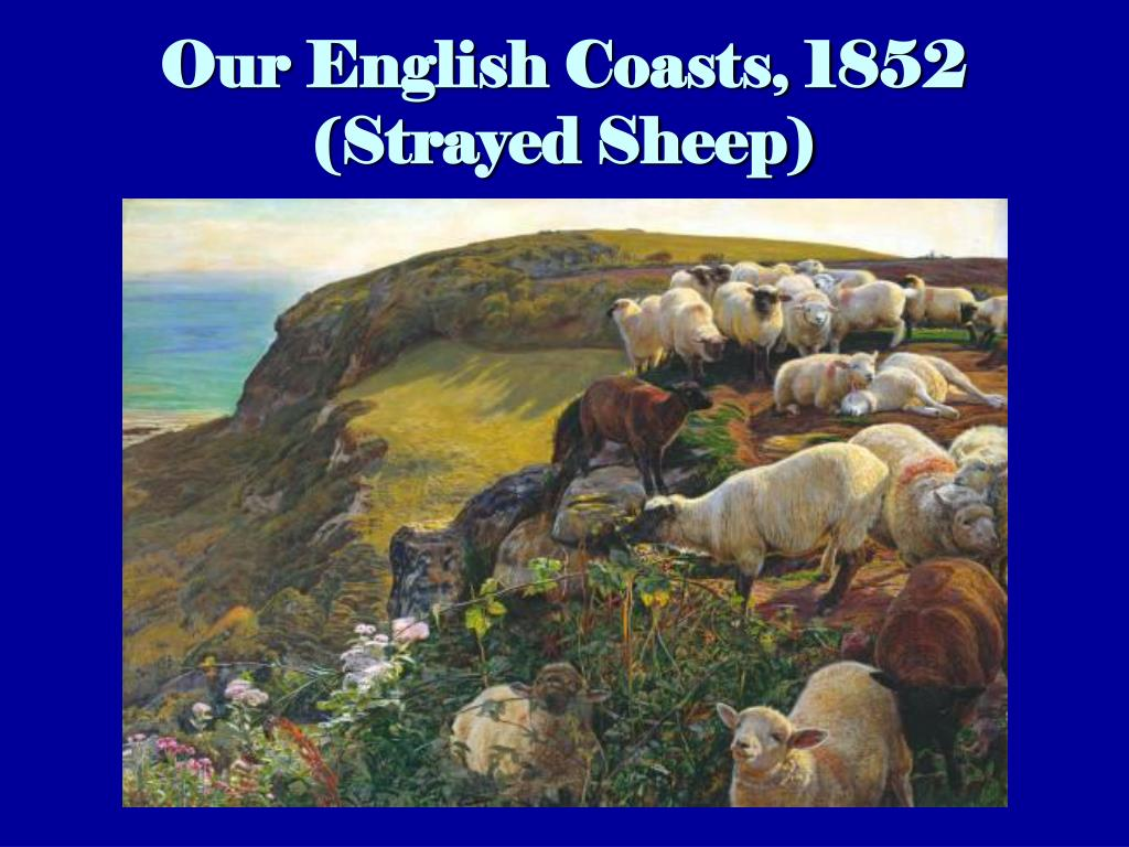 Our English Coasts, 1852 (Strayed Sheep)