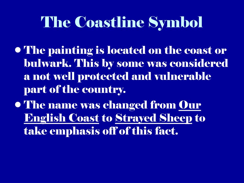 The Coastline Symbol