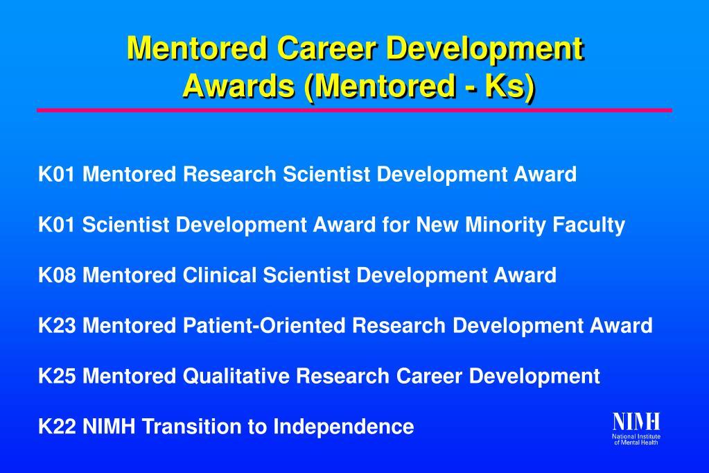 Mentored Career Development