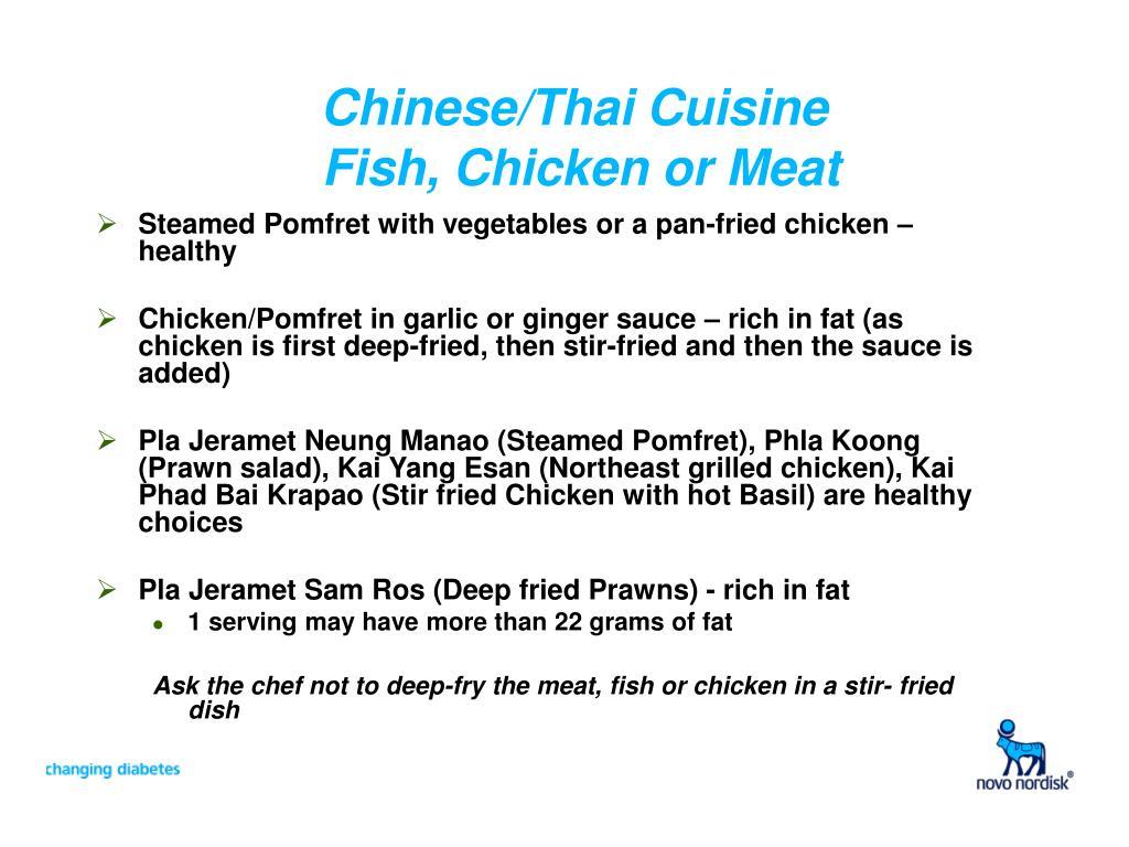 Chinese/Thai Cuisine