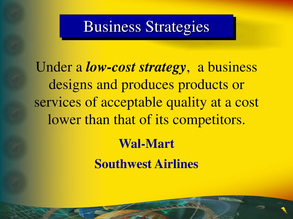 Business Strategies