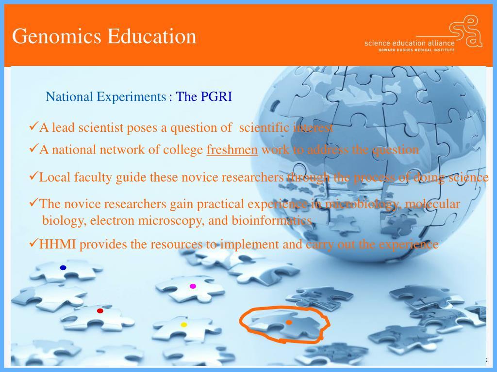 Genomics Education