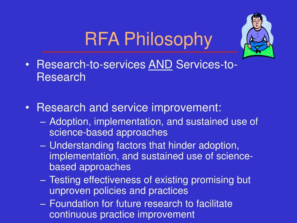 RFA Philosophy