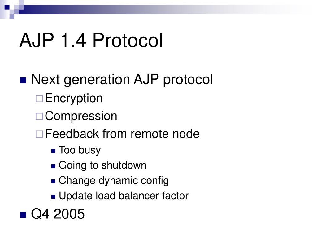 AJP 1.4 Protocol