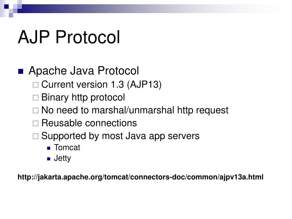 AJP Protocol
