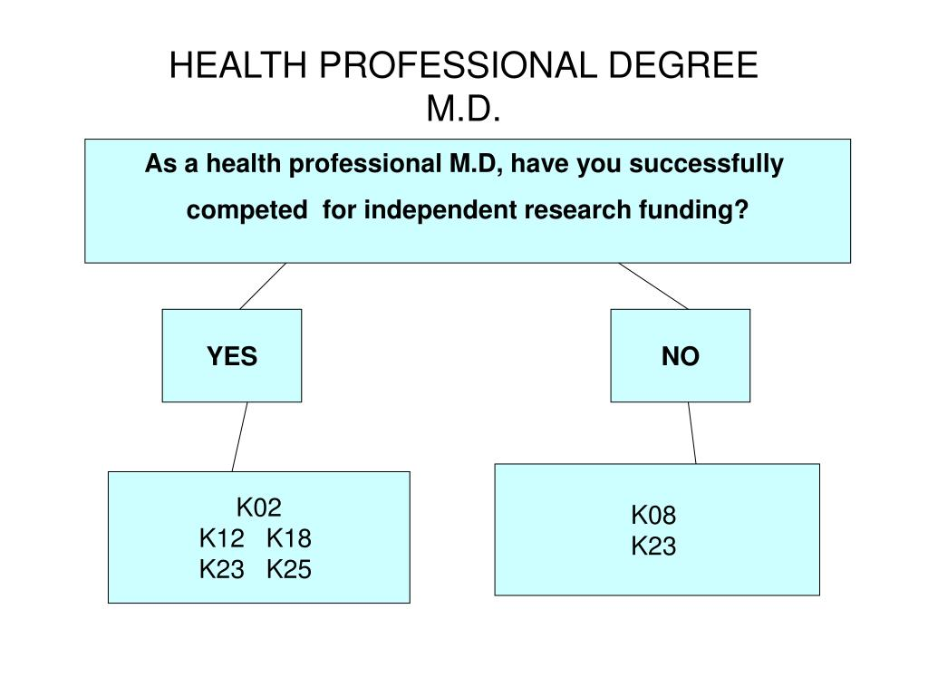 HEALTH PROFESSIONAL DEGREE