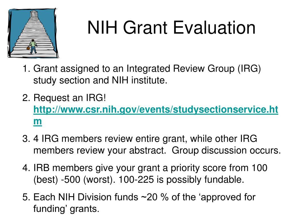 NIH Grant Evaluation