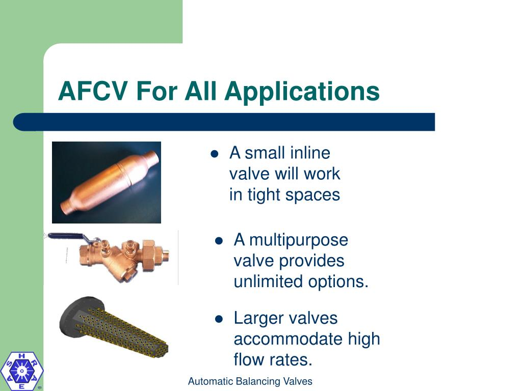 AFCV For All Applications