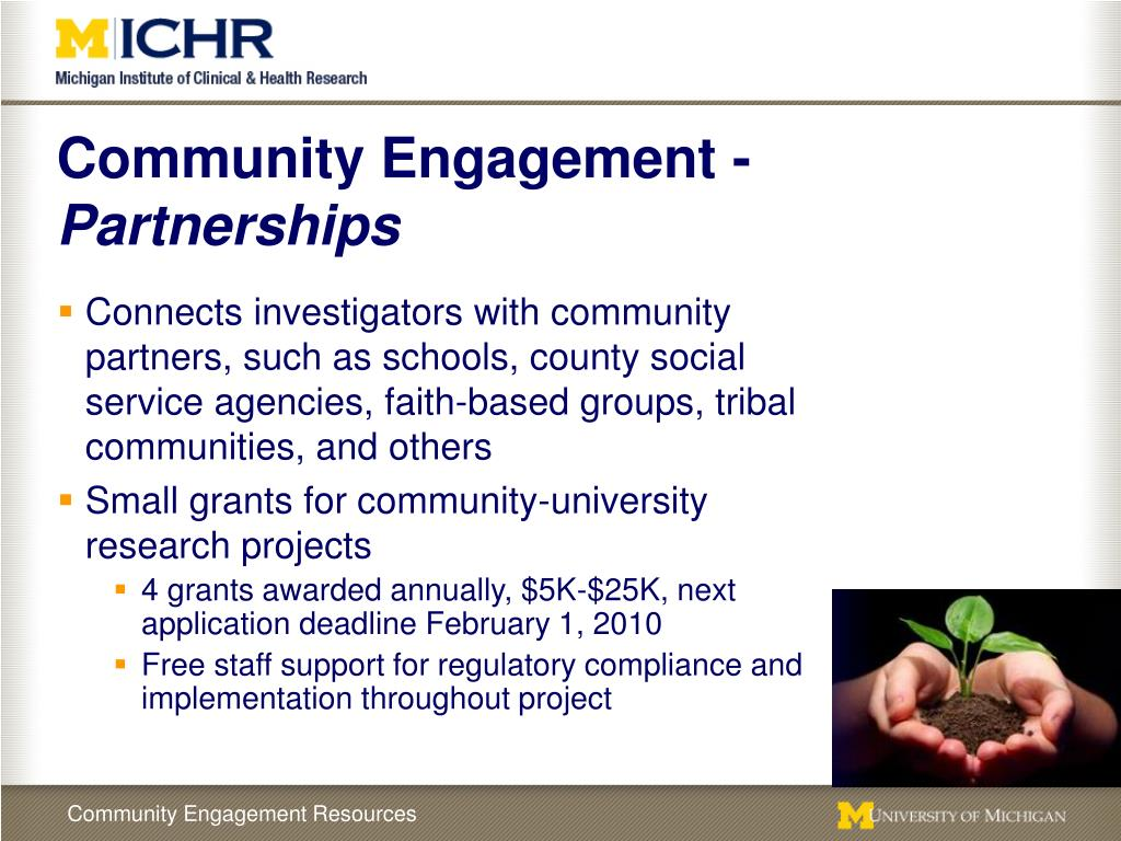 Community Engagement -