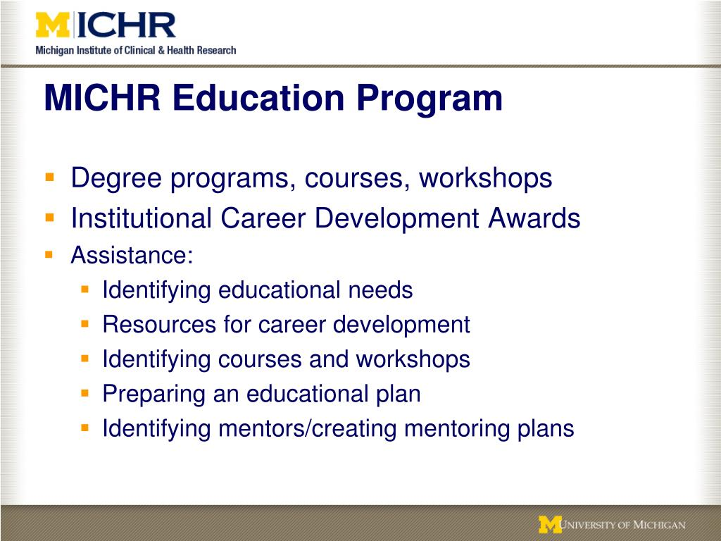 MICHR Education Program