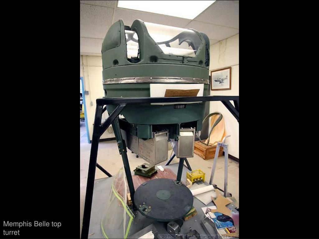 Memphis Belle top turret