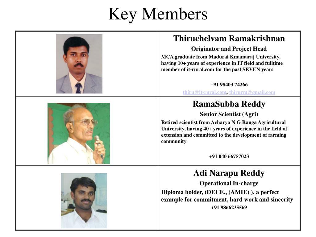 Key Members