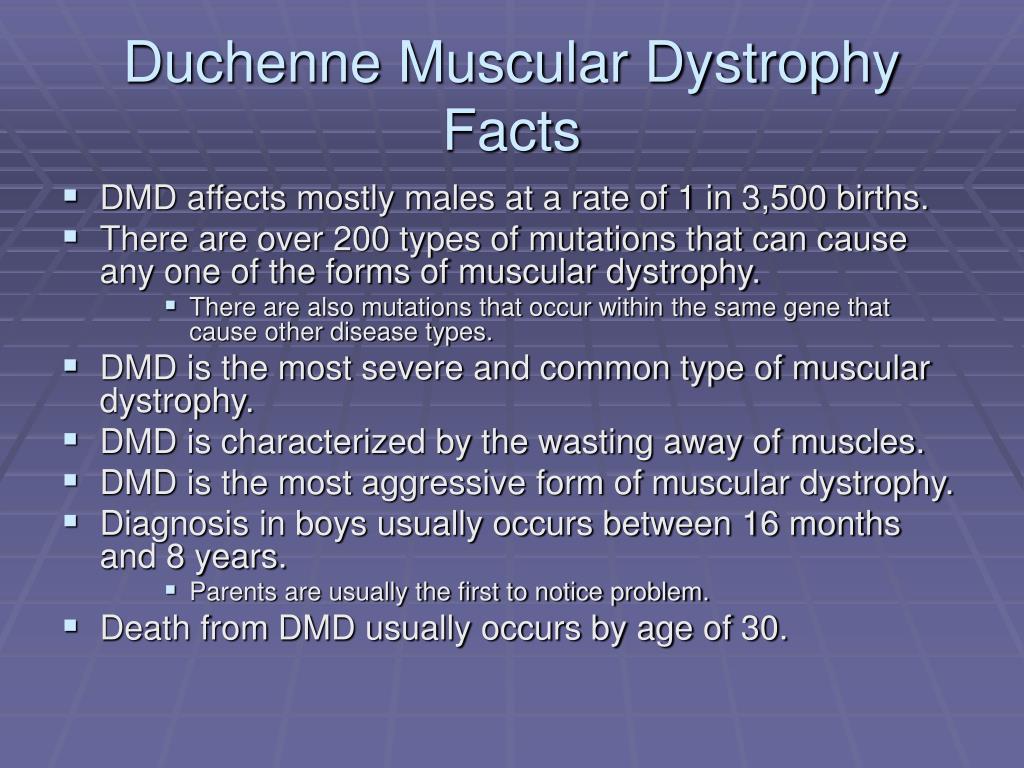 PPT - Duchenne Muscular Dystrophy PowerPoint Presentation ...