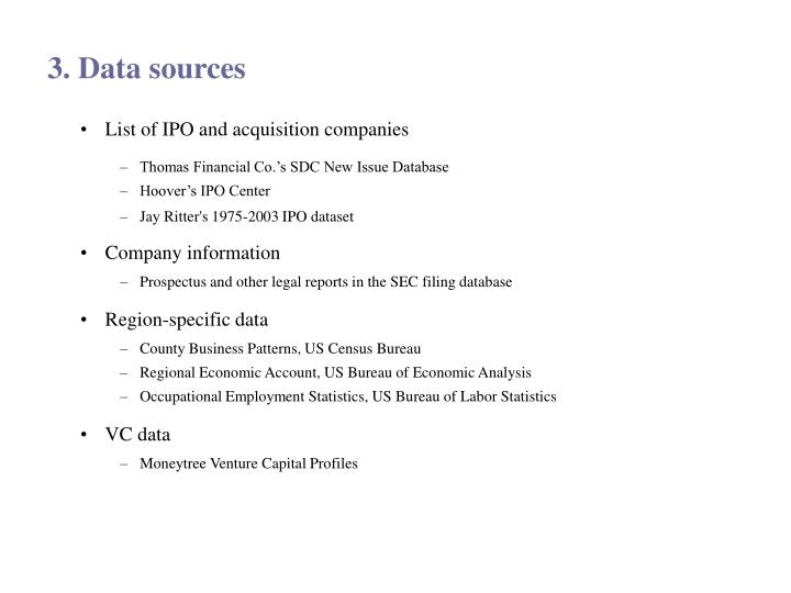 List of IPO and acquisition companies