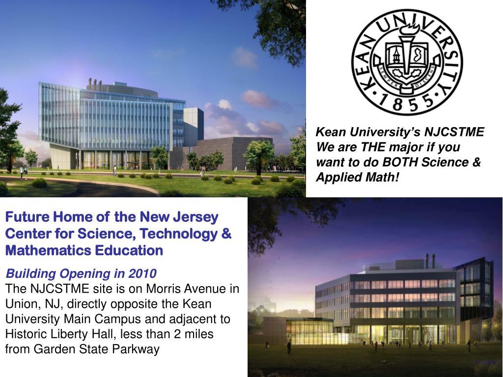 Kean University's NJCSTME