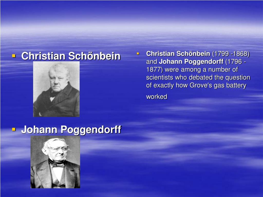 Christian Schönbein