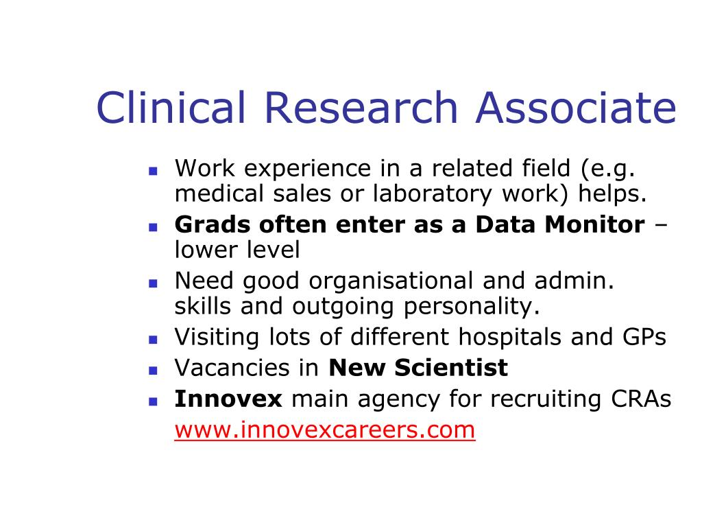 Clinical Research Associate
