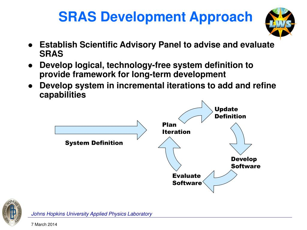 SRAS Development Approach
