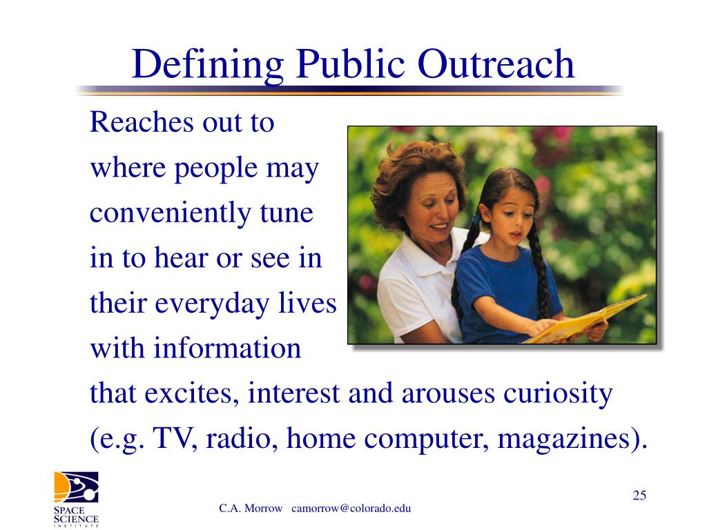 Defining Public Outreach