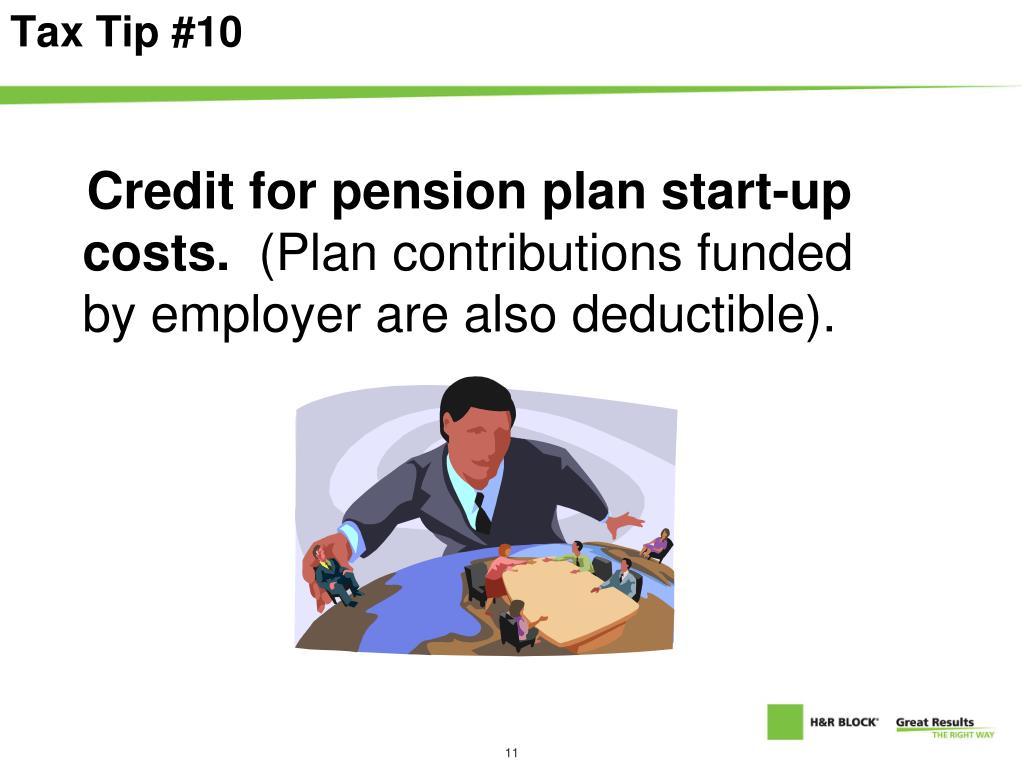 Tax Tip #10