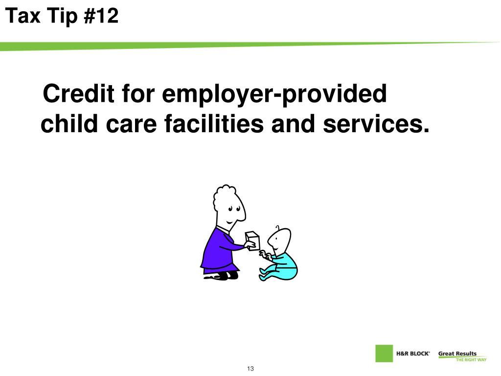 Tax Tip #12