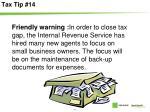 tax tip 14