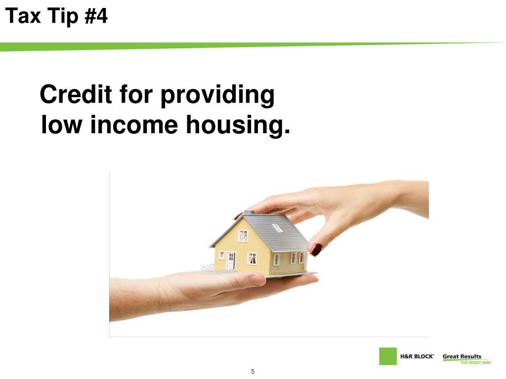 Tax Tip #4