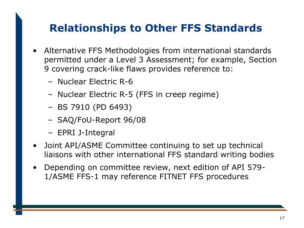 API 579-1/ASME FFS-1 Fitness-For-Service Standard PowerPoint Presentation