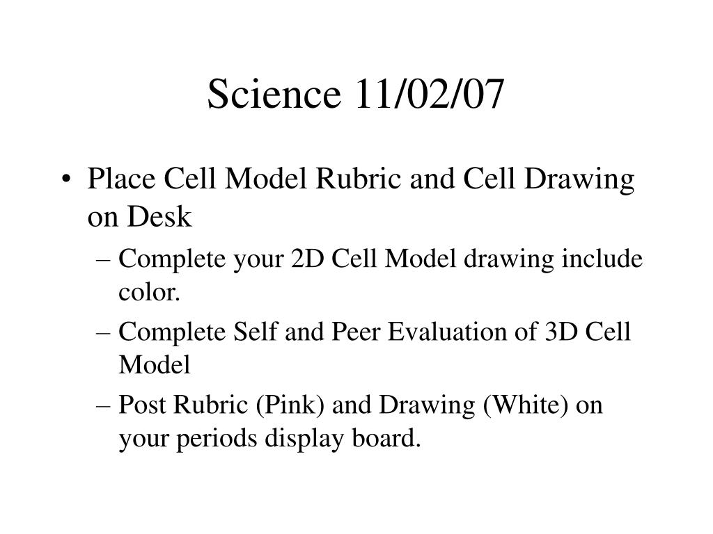 Science 11/02/07