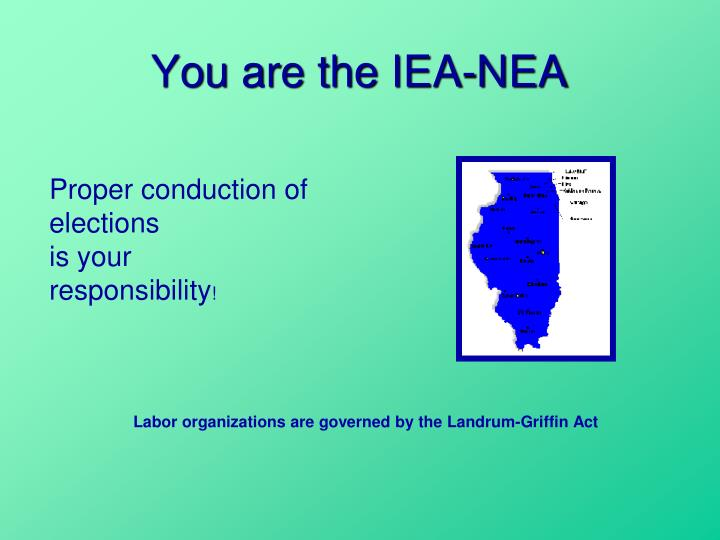 You are the iea nea