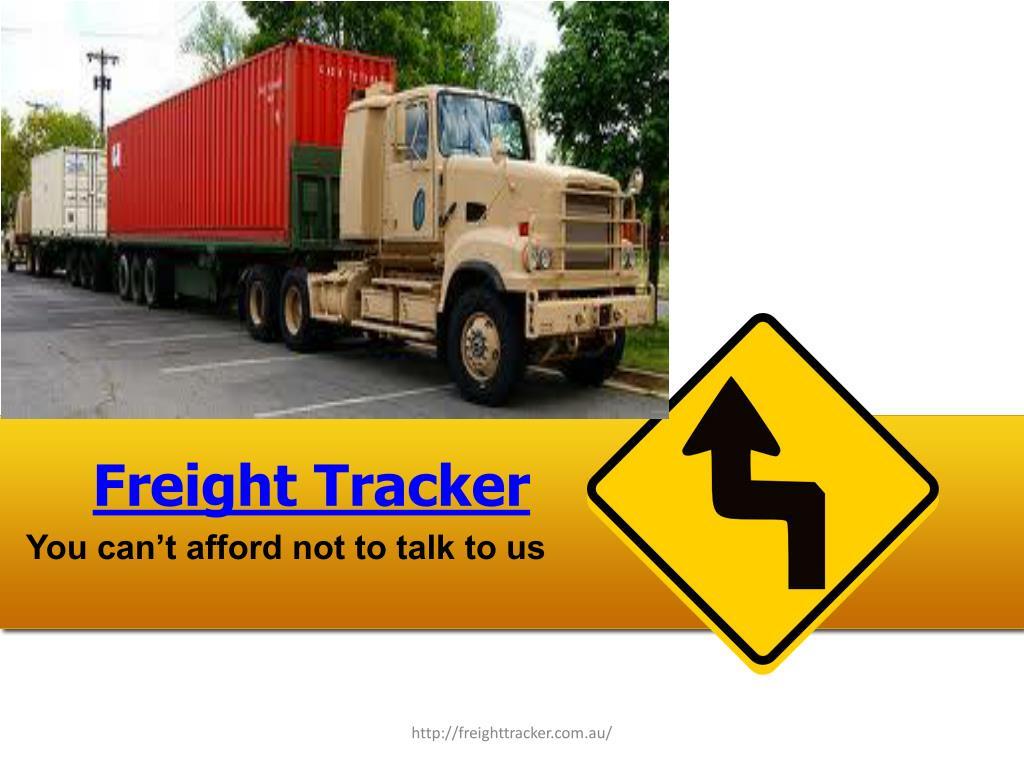 freight tracker