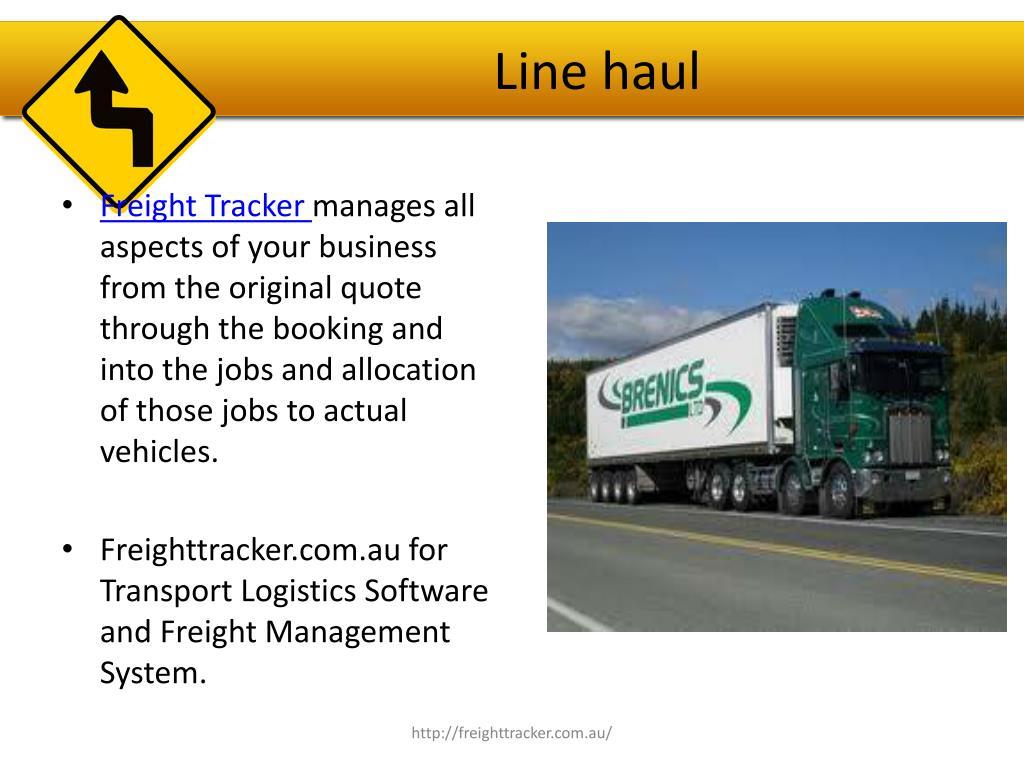 Line haul