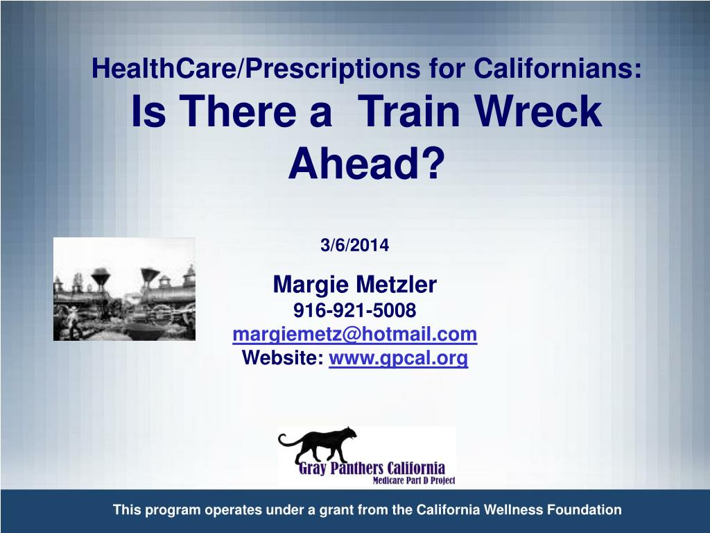 HealthCare/Prescriptions for Californians: