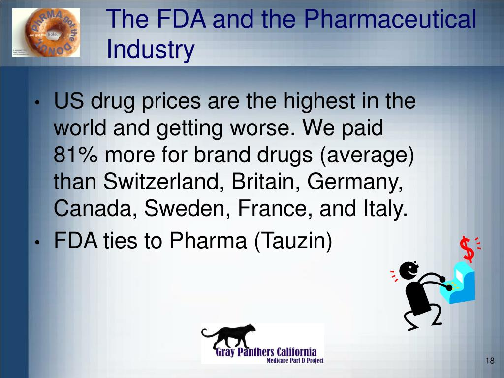The FDA and the Pharmaceutical Industry
