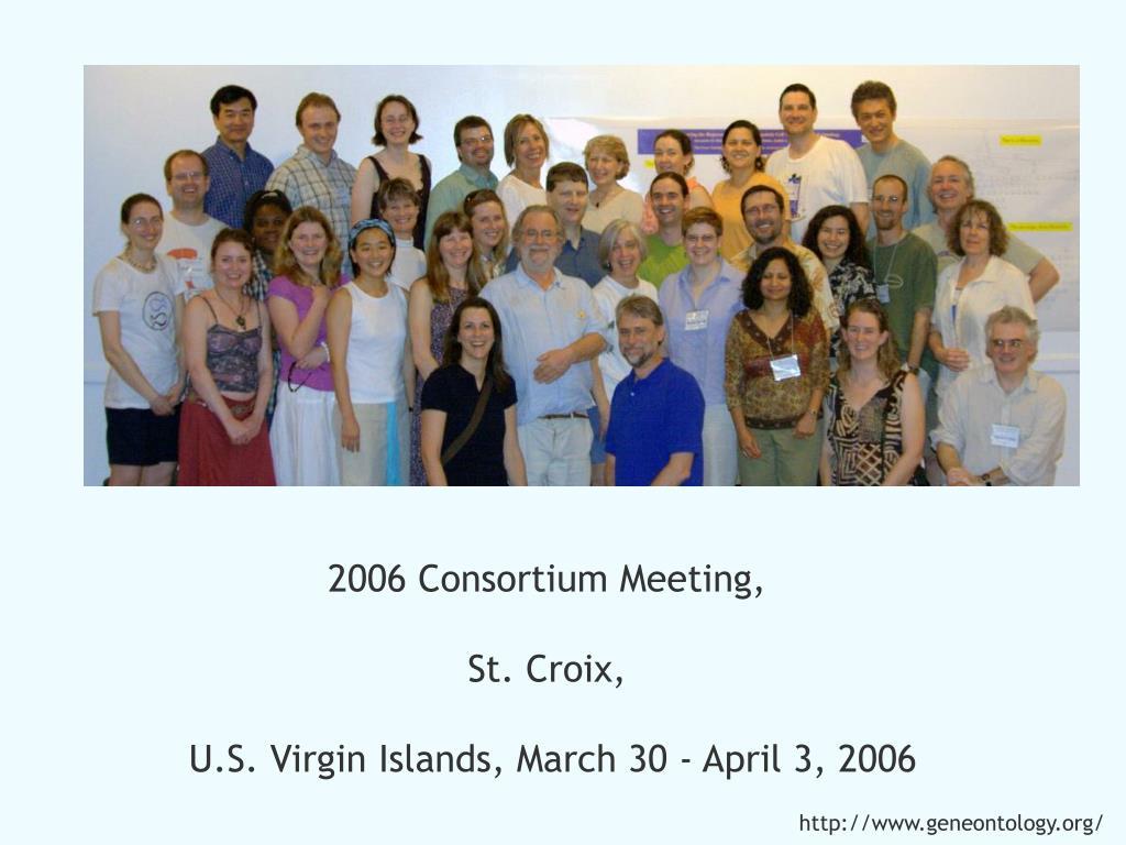 2006 Consortium Meeting,