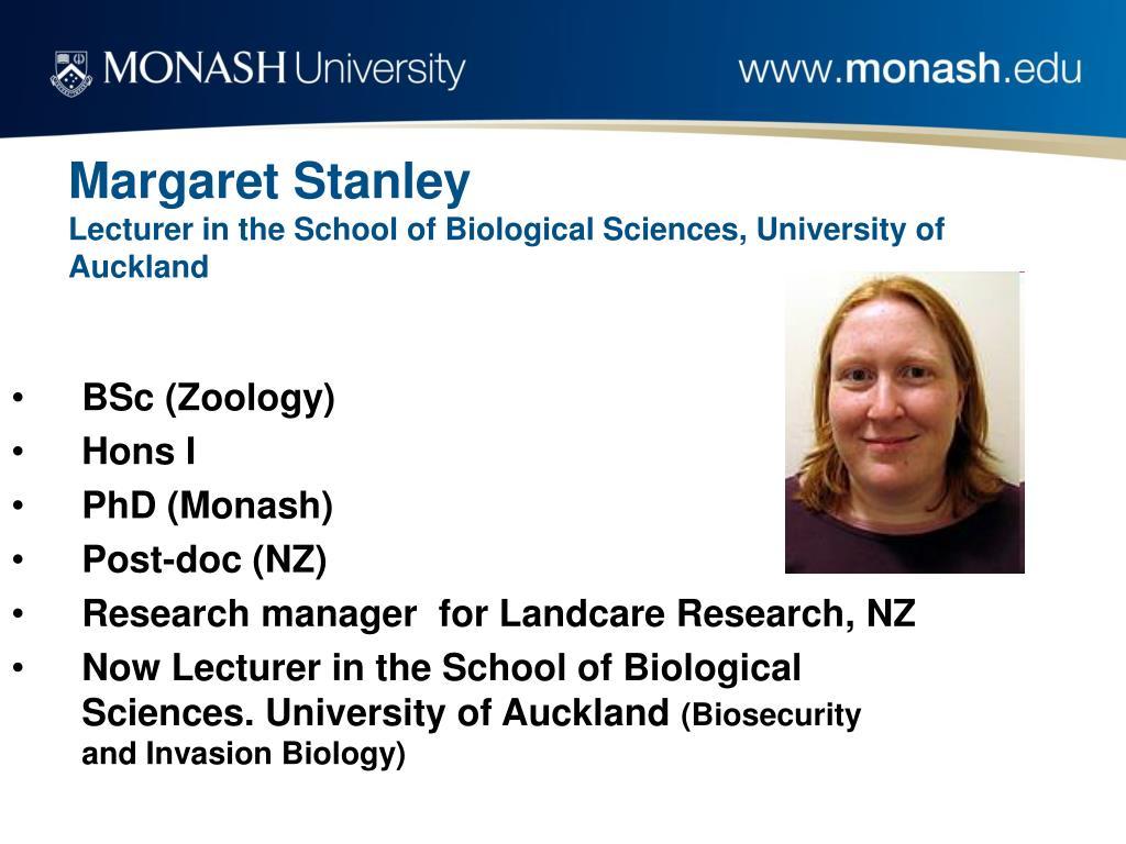 Margaret Stanley