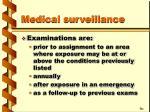 medical surveillance30