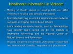 healthcare informatics in vietnam