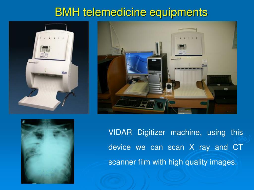 BMH telemedicine equipments