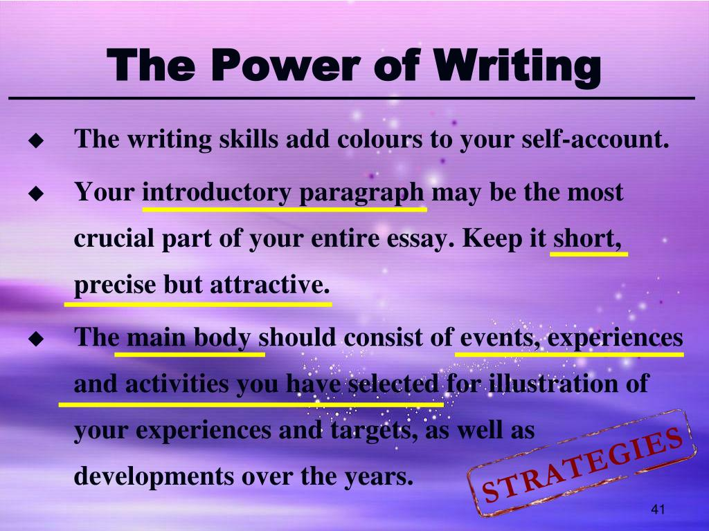 Power of giving essay writer