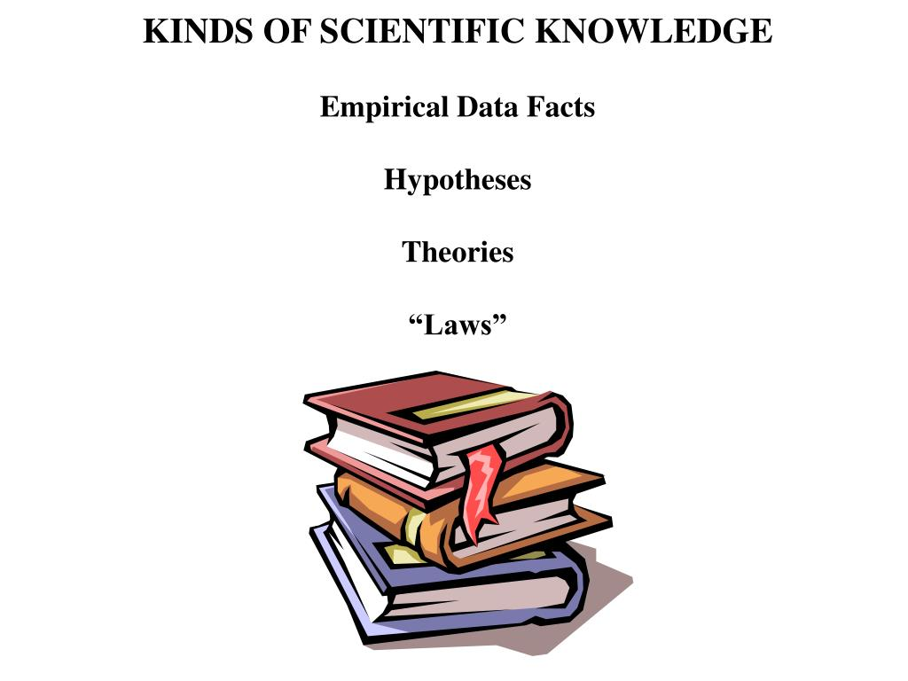 KINDS OF SCIENTIFIC KNOWLEDGE