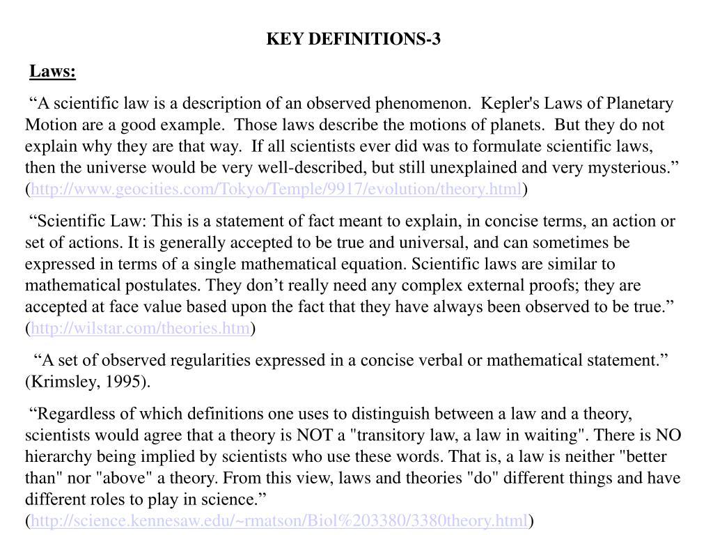 KEY DEFINITIONS-3