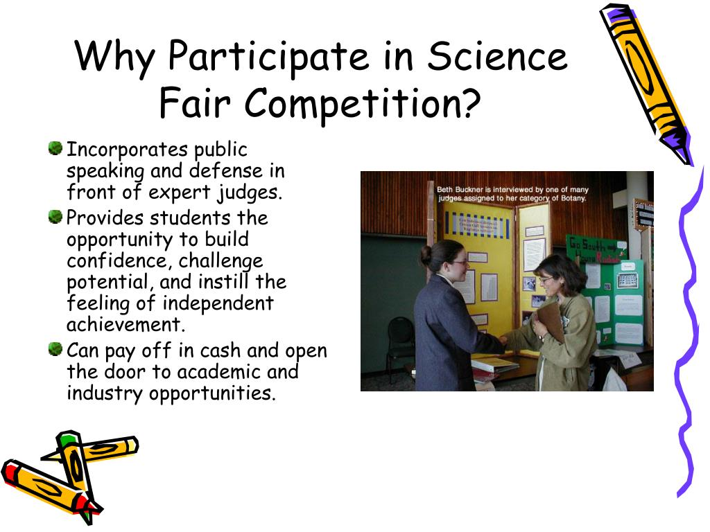 Why Participate in Science Fair Competition?